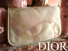 100% AUTHENTIC Exclusive DIOR COUTURE CREME&PEARL Travel Makeup Clutch BAG £85