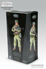 "SIDESHOW STAR WARS ENDOR REBEL ALLIANCE INFANTRY COMMANDO 1/6 12"" FIGURE NEW"
