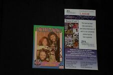 "BARRY GIBB ""THE BEE GEES"" 1991 STARLINE SIGNED AUTOGRAPHED CARD JSA CERTIFIED"