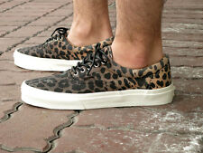 Vans Era CA Ombre Dyed Cheetah Black Men's Skate Shoes Size 9.5