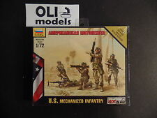 1/72 US Modern Mechanized Infantry FIGURES SET - Zvezda 7407