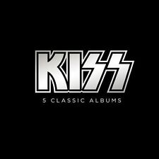 5 Classic Albums by Kiss (CD, Oct-2012, Mercury)