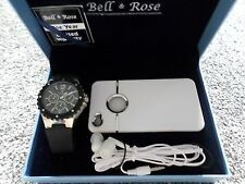 Bell And Rose Watch Set New  Boxed Watch,Iphone 4,4s phone cover & Headphones