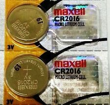 CR 2016 MAXELL LITHIUM BATTERIES (2 piece) 3V Watch 2016 New Authorized Seller