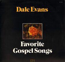 DALE EVANS favorite gospel songs SAC 5085 uk sacred 1975 LP PS EX/EX