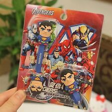Superman Cable  Cord Organizer Headset  Wrap Winder-set of 2