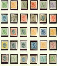 DENMARK : 1913-28. Scott #97-134 Complete. Also includes #123a. Catalog $1,058.