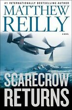 Scarecrow Returns-Matthew Reilly-2012 Scarecrow series #2-HC/DJ-Combined Ship