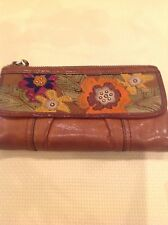 Fossil 1954 Long Live Vintage Brown Leather Beautiful Purse