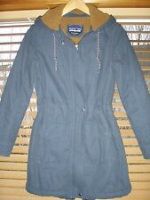 Patagonia Women's Insulated Down Parka Navy Blue XS