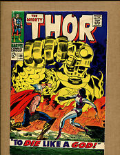Thor #139 - To Die like a God - 1967 (Grade 3.0) WH