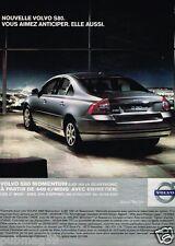 Publicité advertising 2007 Volvo S80 Momentum