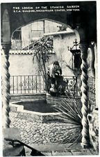 NEW YORK CITY–Rockefeller Center Loggia of the Spanish Garden at R.C.A. Building