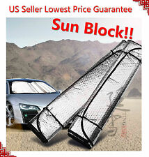 Auto Car Sun Shade Foldable Metallic Visor Wind Shield Reflective Shade