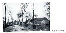 Dorfstraße in Holtland Landkreis Leer Ostfriesland 1932