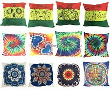 US Seller -  wholesale 12pcs rasta tie dye mandala  sofa pillow cover