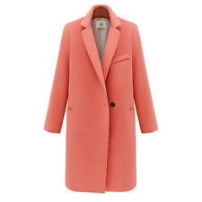 Womens Lady Long Parka Coat Trench Winter Warm Jacket Thick Outwear Overcoat New