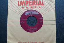 "7"" Fats Domino - Valley Of Tears - USA Imperial"