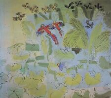 RAOUL DUFY painting drawing aubusson tapestries fabric designs paul poiret dress
