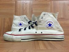 RARE�� Converse Chuck Taylor Vintage Made In USA White Sz 11.5 Hi All Star