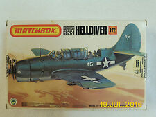 MATCHBOX CURTISS SB2C-1 HELLDIVER 1:72 SCALE GOOD CONDITION