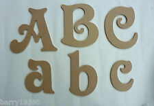 wooden alphabet letters mdf letters  6 inch  tall