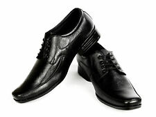 Vedano Formal Black Genuine Derby Leather shoes FORM007_9