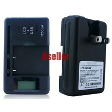 Battery Charger For LG BL-44JN AS855 Ignite US855 Majestic E739 myTouch T-Mobile