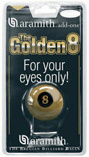 Aramith Golden 8 Ball 2 1/4 inch