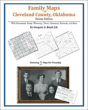 Family Maps Cleveland County, Oklahoma Genealogy OK Plat