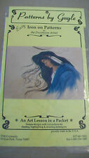PATTERNS BY GAYLE BENET #169 IRON ON PATTERNS FABRIC PAINTING MOONDUST