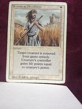 Swords to Plowshares revised   MTG PLAYED (see scan)