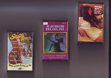 lot 3 cassettes audio  slows - bolero cha cha cha - soca dance / bon etat K7