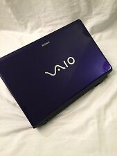 "Sony Vaio VPC-CW290X Royal Indigo 14"" Laptop 320GB 8GB Ram"