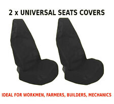 2x CAR FRONT SEAT COVERS PROTECTOR For VW Amarok