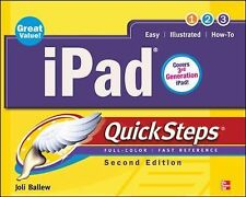 iPad QuickSteps, 2nd Edition: Covers 3rd Gen iPad-ExLibrary