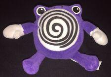 "Nintendo Pokemon Poliwhirl Plush Beanie Beanbag Stuffed Animal Hasbro 1998 5"""