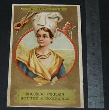 CHROMO CHOCOLAT POULAIN 1900-1914 REGIONS FRANCE LA ROCHELLE ROCHELAISE