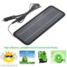 Portable 4.5W 12V Solar Panel Battery Charger for Trickle Car Boat Motorcycle