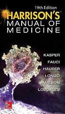 Harrisons Manual of Medicine 19th Int'l Edition