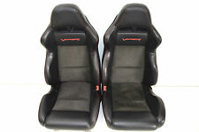 Viper SRT-10 Sitze Leder, Alcantara Seats with red stitching