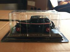 """DIE CAST """" CITROEN TRACTION 11 MADRID - 1955 """" 1/43 TAXI SCALA 1/43"""