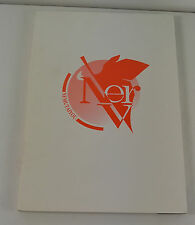 NERV Nemutaiyo Gainax 1998 Evangelion Illustrated Printed in Japan BOOK