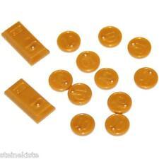 LEGO® City Goldbarren mit Münzen Zubehör für Figur bullion NEU