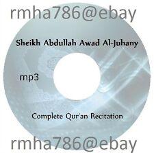 Sheikh Abdullah Awad Al Juhany Full Quran Recitation mp3 CD (no translation)
