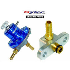 SYTEC SAR FUEL PRESSURE REGULATOR (BLUE) + FUEL RAIL ADAPTOR - MAZDA 323F / GTR