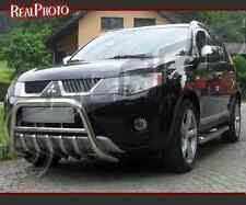 MITSUBISHI OUTLANDER 06-09 BULL BAR, NUDGE BAR,A BAR + GRATIS!!! STAINLESS STEEL