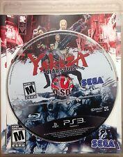 Yakuza: Dead Souls (Sony PlayStation 3, 2012)