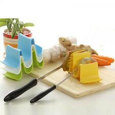 Plastic Rack Pan Lid Stand Spoon Rest Shell Holder Pot Cover