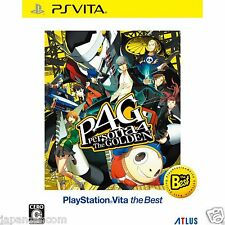 Persona 4: The Golden (the Best) PS Vita SONY JAPANESE NEW JAPANZON